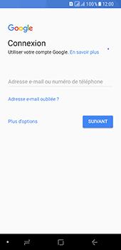 Samsung Galaxy A8 (2018) - Applications - Créer un compte - Étape 4