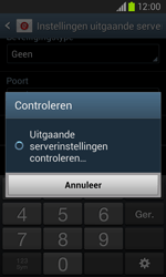 Samsung Galaxy Core (I8260) - E-mail - Account instellen (POP3 zonder SMTP-verificatie) - Stap 16