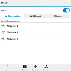 BlackBerry Passport - WiFi - Handmatig instellen - Stap 8