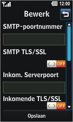 LG GD510 Pop - E-mail - Handmatig instellen - Stap 18