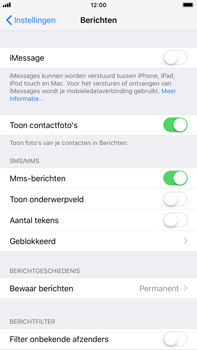 Apple iPhone 6s Plus - iOS 12 - MMS - probleem met ontvangen - Stap 11
