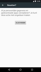 LG Nexus 5X (H791F) - Android Nougat - Resetten - Fabrieksinstellingen terugzetten - Stap 7