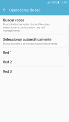 Samsung Galaxy S7 Edge - Red - Seleccionar una red - Paso 8