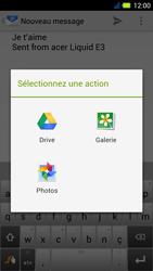 Acer Liquid E3 - E-mail - Envoi d