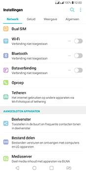 LG Q7 - WiFi - Verbinden met een netwerk - Stap 3