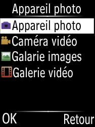 Doro Phone Easy 631 - Photos, vidéos, musique - Prendre une photo - Étape 4