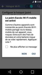 LG K4 - Internet et connexion - Partager votre connexion en Wi-Fi - Étape 12