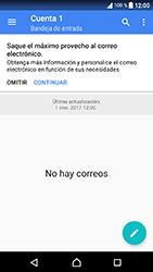 Sony Xperia XA1 - E-mail - Configurar correo electrónico - Paso 5