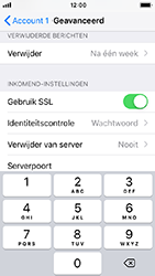 Apple iphone-5s-met-ios-12-model-a1457 - E-mail - Handmatig instellen - Stap 24