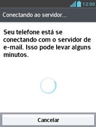 LG E430 Optimus L3 II - Email - Como configurar seu celular para receber e enviar e-mails - Etapa 20