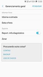 Samsung Galaxy J2 Prime - Funções básicas - Como restaurar as configurações originais do seu aparelho - Etapa 5