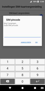 Sony Xperia XZ2 (H8216) - Beveiliging en ouderlijk toezicht - Hoe wijzig ik mijn SIM PIN-code - Stap 7