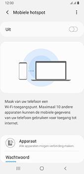 Samsung galaxy-a8-2018-sm-a530f-android-pie - WiFi - Mobiele hotspot instellen - Stap 7
