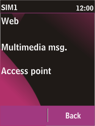 Nokia C2-03 - MMS - Automatic configuration - Step 10