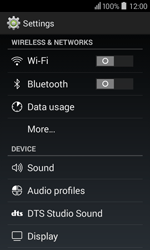 Acer Liquid Z200 - Internet - Enable or disable - Step 4