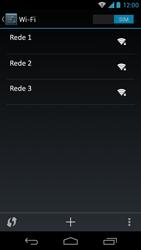 Motorola Moto X - Wi-Fi - Como configurar uma rede wi fi - Etapa 8