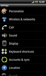 HTC A7272 Desire Z - Voicemail - Manual configuration - Step 4