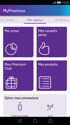 Huawei P8 - Applications - MyProximus - Étape 12