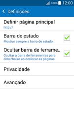 Samsung Galaxy J1 - Internet no telemóvel - Como configurar ligação à internet -  26