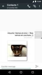 Motorola Moto G 3rd Gen. (2015) (XT1541) - Mensajería - Escribir y enviar un mensaje multimedia - Paso 18