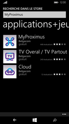Microsoft Lumia 640 - Applications - MyProximus - Étape 7