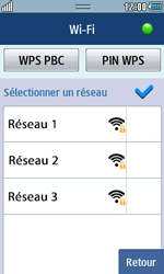 Samsung Wave 723 - Internet et connexion - Accéder au réseau Wi-Fi - Étape 7