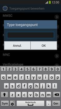 Samsung N9005 Galaxy Note III LTE - Internet - handmatig instellen - Stap 15