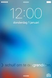 Apple iPhone 4 S iOS 9 - Device maintenance - Een soft reset uitvoeren - Stap 4