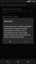 Sony Xperia Z - Internet - Configurar Internet - Paso 7