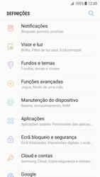 Samsung Galaxy S7 - Android Nougat - Segurança - Como ativar o código de bloqueio do ecrã -  4