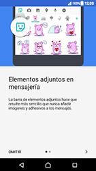 Sony Xperia XZ (F8331) - Mensajería - Escribir y enviar un mensaje multimedia - Paso 4