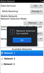BlackBerry 9860 Torch - Network - Usage across the border - Step 10