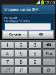 Samsung Galaxy Pocket Neo - Segurança - Como ativar o código PIN do cartão de telemóvel -  7