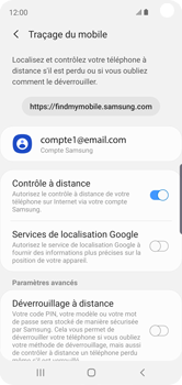 Samsung Galaxy S10e - Appareil - configurer Localiser mon appareil - Étape 7
