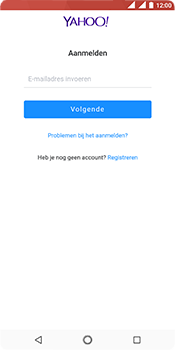 Nokia 5.1 - E-mail - e-mail instellen (yahoo) - Stap 8