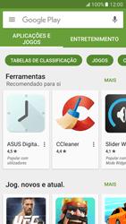 Samsung Galaxy S7 - Aplicações - Como pesquisar e instalar aplicações -  4