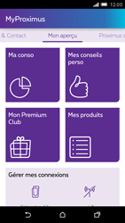 HTC One M9 - Applications - MyProximus - Étape 12