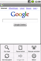 Samsung Galaxy Spica (GT-i5700) - Internet - Hoe te internetten - Stap 7