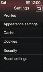 LG KP500 Cookie - Internet - Automatic configuration - Step 10