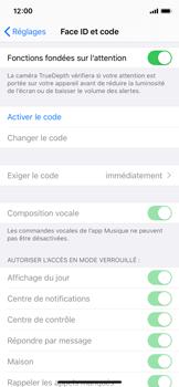 Apple iPhone 11 Pro - Sécurité - activéz le code PIN de l'appareil - Étape 4