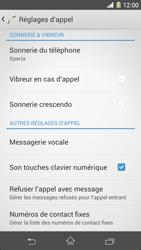 Sony C6903 Xperia Z1 - Messagerie vocale - configuration manuelle - Étape 6