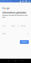 Alcatel 1X - Applications - Créer un compte - Étape 7