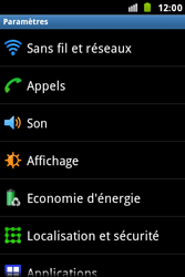 Samsung S7500 Galaxy Ace Plus - Wifi - configuration manuelle - Étape 3