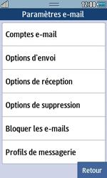 Samsung S5250 Wave 525 - E-mail - Configuration manuelle - Étape 9