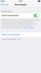 Apple iPhone 7 (Model A1778) - iOS 11 - Automatische iCloud-reservekopie instellen - Stap 6