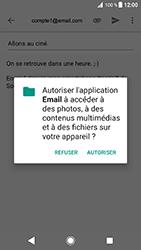 Sony Xperia XZ - Android Oreo - E-mail - envoyer un e-mail - Étape 10