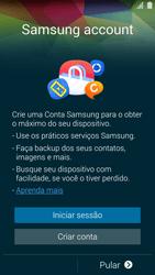 Samsung G900F Galaxy S5 - Primeiros passos - Como ativar seu aparelho - Etapa 14