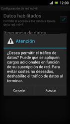 Sony Xperia J - Internet - Configurar Internet - Paso 7