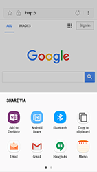 Samsung Galaxy S7 - Android Nougat - Internet - Internet browsing - Step 21