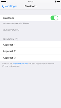 Apple Apple iPhone 6s Plus iOS 9 - Bluetooth - koppelen met ander apparaat - Stap 7